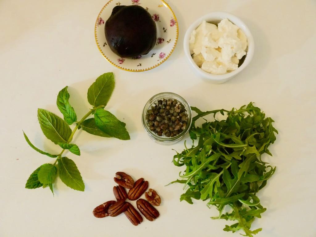 Hudson Clearwater salad ingredients