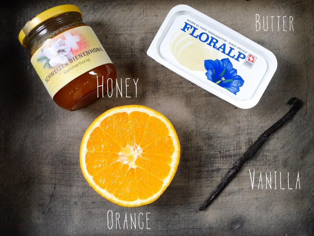 Orange Honey Butter Vanilla