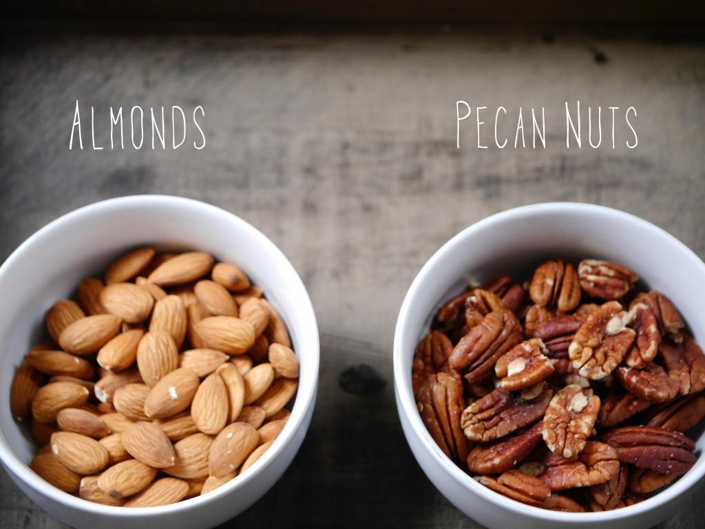 Almonds Pecans