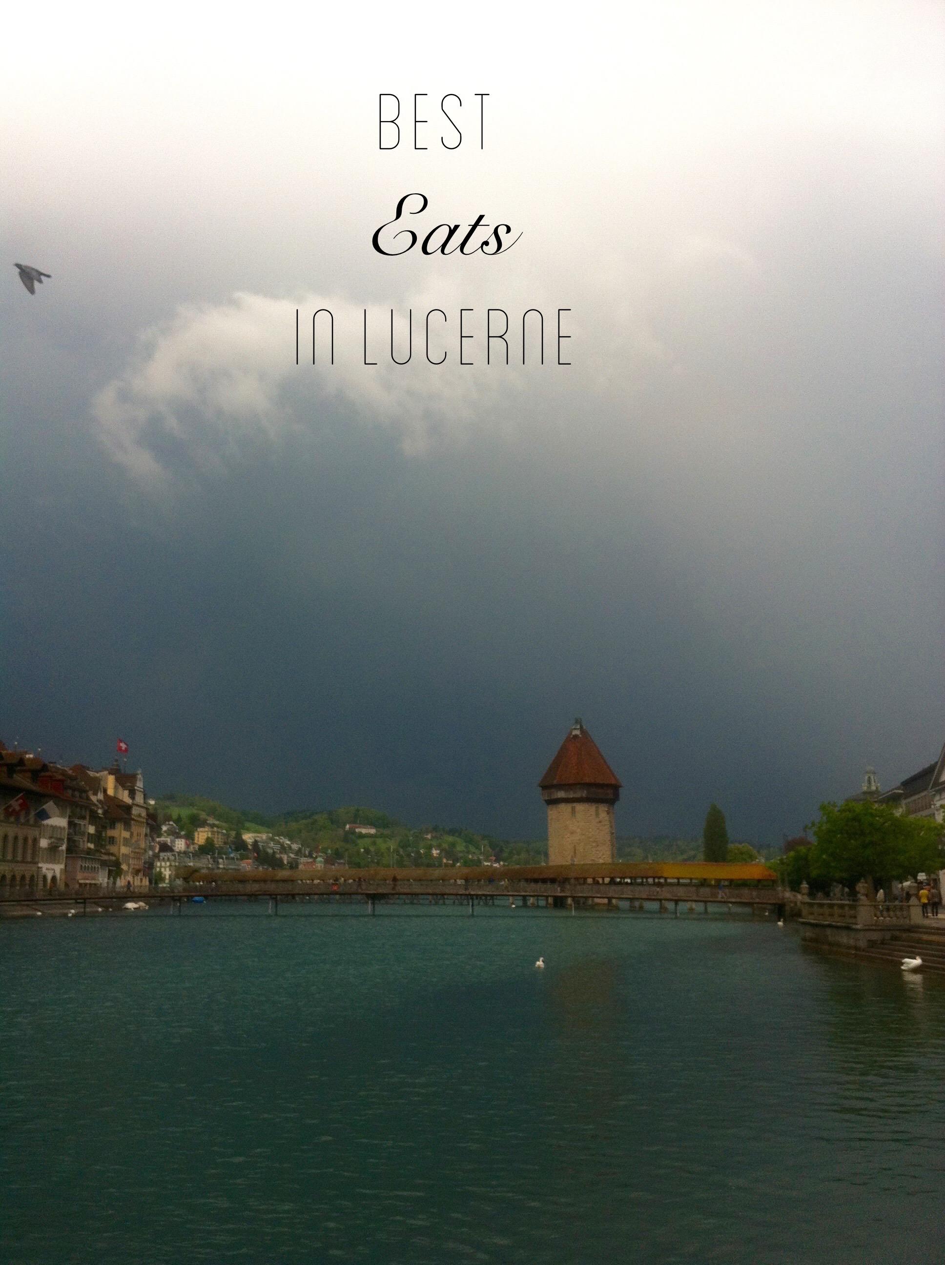 Lucerne eats