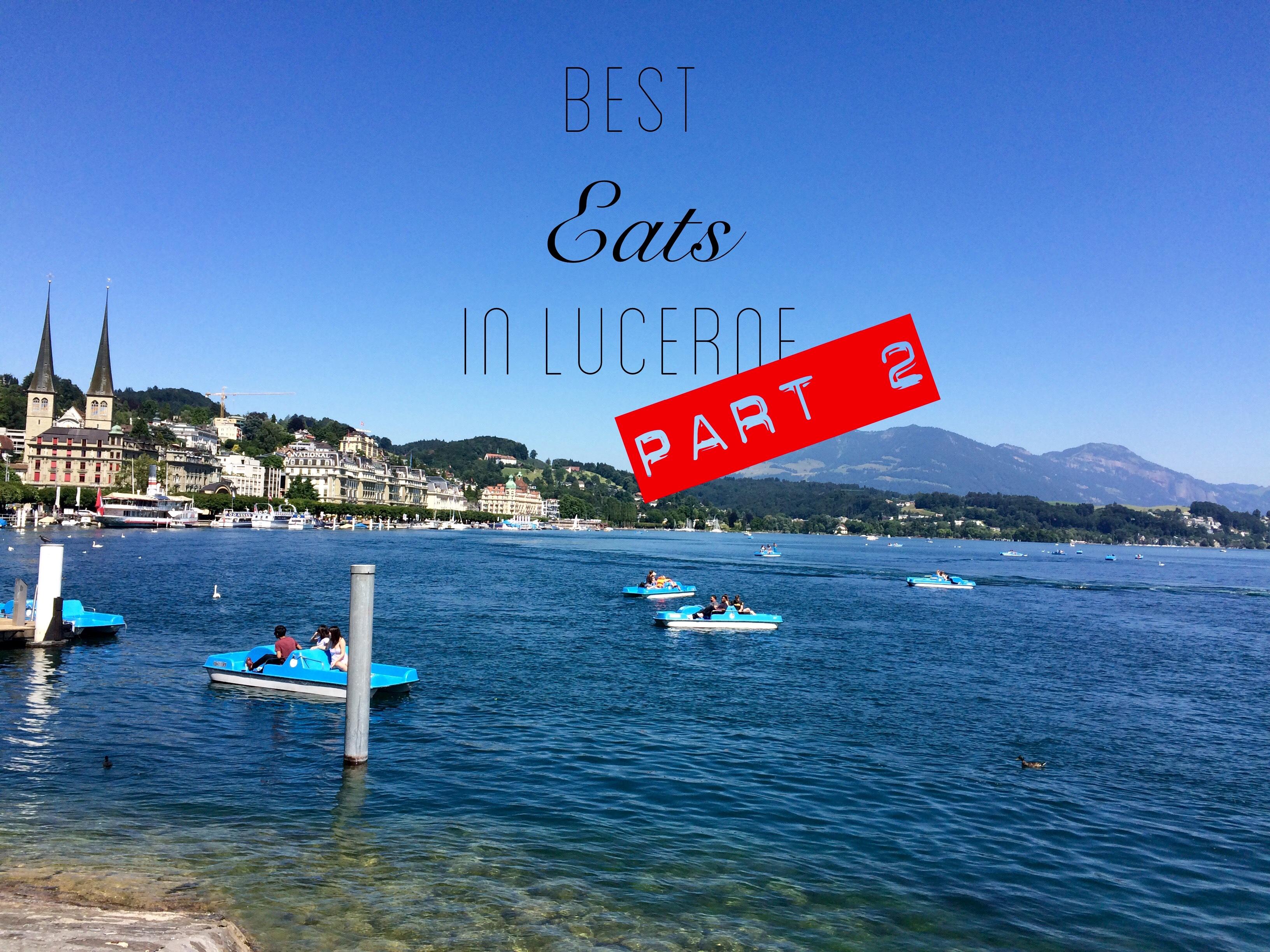 Lucerne restaurants