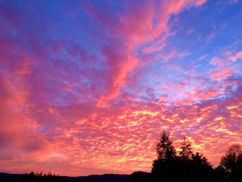 New Hampshire sunrise