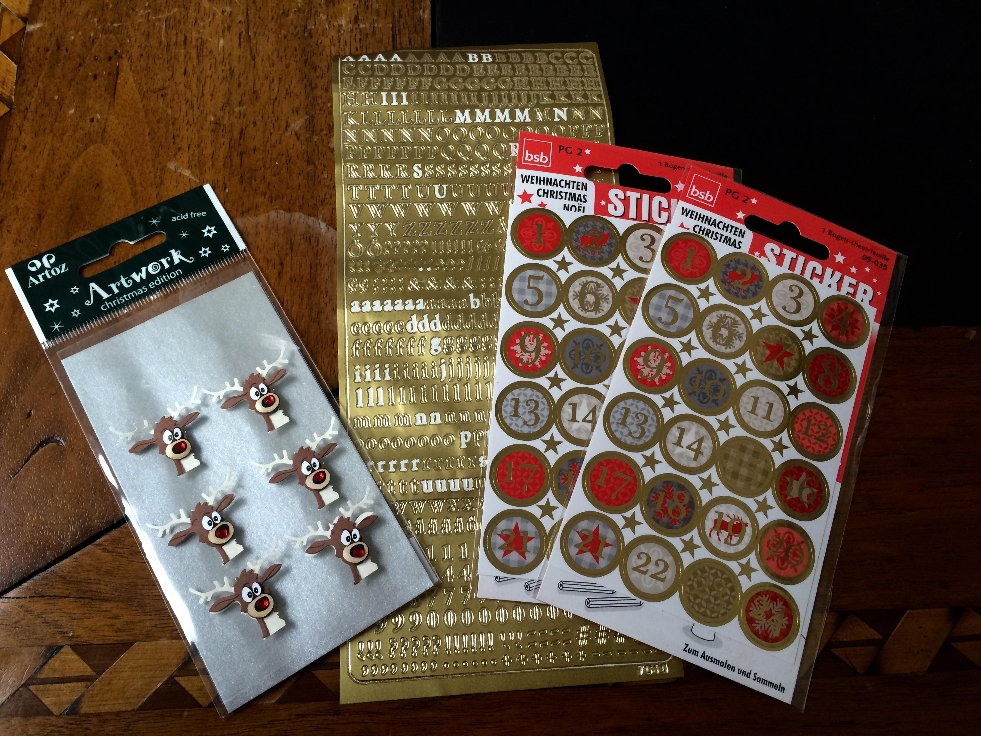 Diy Chocolate Advent Calendar : Diy advent calendar the roaring prettiness