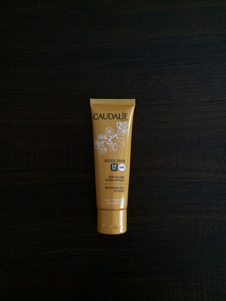 Caudalie sunscreen